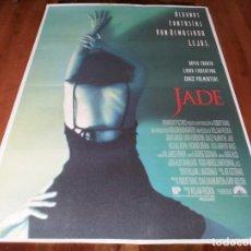 Cine: JADE - LINDA FIORENTINO, DAVID CARUSO, CHAZZ PALMINTERI - POSTER ORIGINAL U.I.P 1995. Lote 238493935