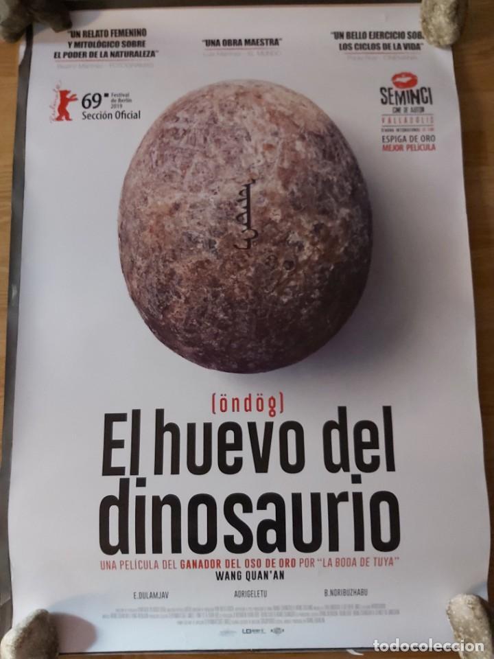 EL HUEVO DEL DINOSAURIO - APROX 70X100 CARTEL ORIGINAL CINE (L82) (Cine - Posters y Carteles - Documentales)