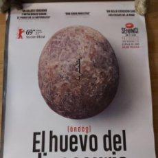 Cine: EL HUEVO DEL DINOSAURIO - APROX 70X100 CARTEL ORIGINAL CINE (L82). Lote 238528405