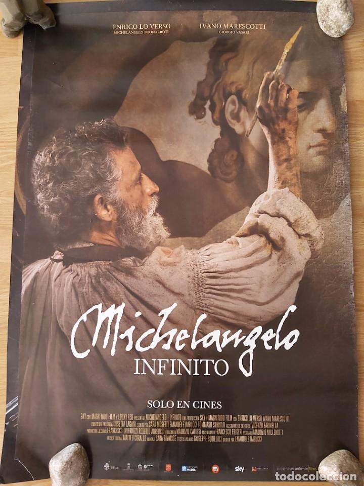 MICHELANGELO, INFINITO - APROX 70X100 CARTEL ORIGINAL CINE (L82) (Cine - Posters y Carteles - Documentales)
