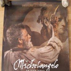 Cine: MICHELANGELO, INFINITO - APROX 70X100 CARTEL ORIGINAL CINE (L82). Lote 238528710