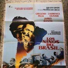 Cine: LOS NIÑOS DE BRASIL. CARTEL DE CINE - MOVIE POSTER. Lote 238612260