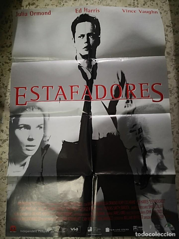 2 CARTELES POSTER DE CINE THE WAR Y ESTAFADORES (Cine - Posters y Carteles - Aventura)