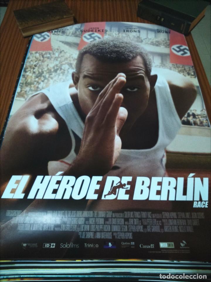POSTER DE CINE -- EL HEROE DE BERLIN -- POSTER GRANDE -- (Cine - Posters y Carteles - Deportes)