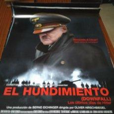 Cinema: POSTER DE CINE -- EL HUNDIMIENTO -- POSTER GRANDE --. Lote 239440180