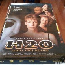 Cine: HALLOWEEN H20 VEINTE AÑOS DESPUÉS - JAMIE LEE CURTIS, JOSH HARTNETT - POSTER ORIGINAL LAUREN 1998. Lote 239483790