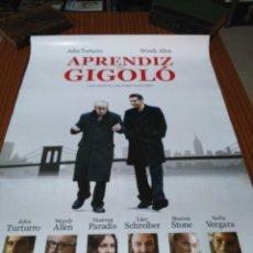 Cinema: POSTER DE CINE -- APRENDIZ DE GIGOLO -- POSTER GRANDE --. Lote 239485455