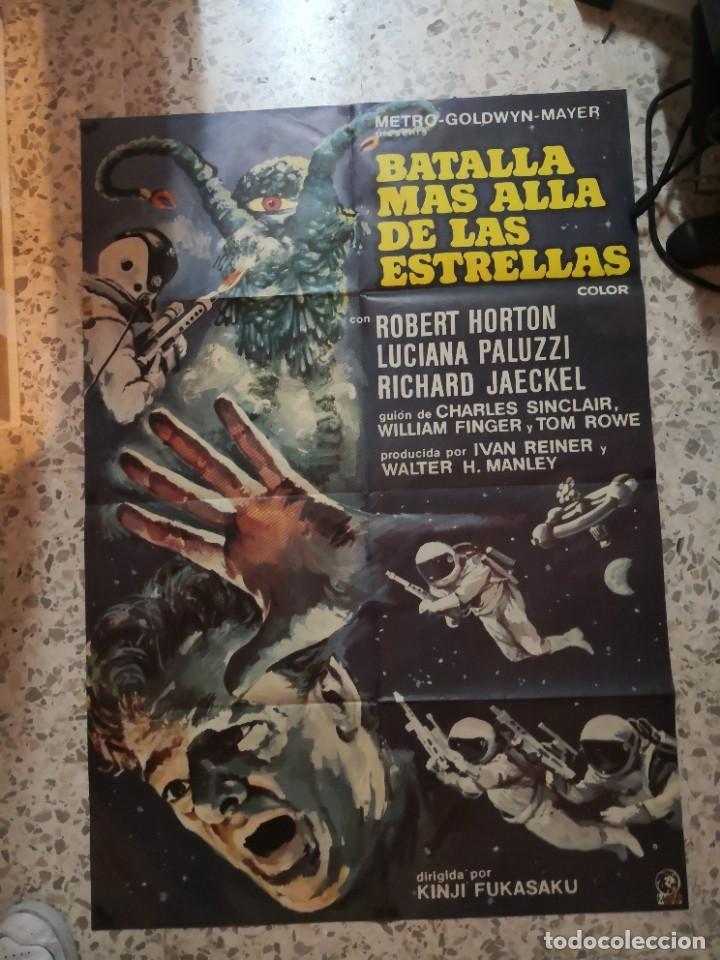 BATALLA MÁS ALLÁ DE LAS ESTRELLAS. ROBERT HORTON, RICHARD JAECKEL AÑO 1967. POSTER ORIGINAL (Cine - Posters y Carteles - Ciencia Ficción)