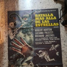 Cine: BATALLA MÁS ALLÁ DE LAS ESTRELLAS. ROBERT HORTON, RICHARD JAECKEL AÑO 1967. POSTER ORIGINAL. Lote 239600930