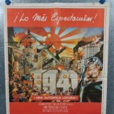 Cinema: 1941. STEVEN SPIELBERG, JOHN BELUSHI, BOBBY DI CICCO AÑO 1979. POSTER ORIGINAL. Lote 239682945