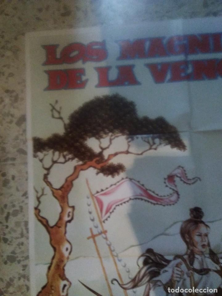 Cine: LOS MAGNIFICOS DE LA VENGANZA LO LIEH SHAW BROTHERS KARATE POSTER ORIGINAL 70X100 - Foto 2 - 239703915