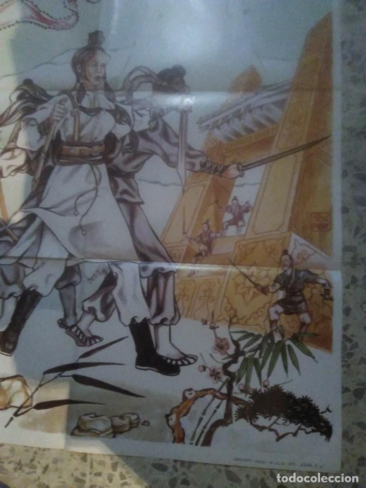 Cine: LOS MAGNIFICOS DE LA VENGANZA LO LIEH SHAW BROTHERS KARATE POSTER ORIGINAL 70X100 - Foto 5 - 239703915