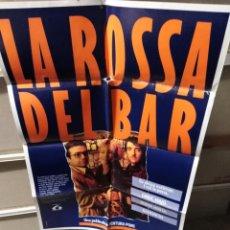 Cine: LA ROSSA DEL BAR LA RUBIA DEL BAR RAMONCIN POSTER ORIGINAL 70X100 YY (2553)EN CATALAN. Lote 239717275