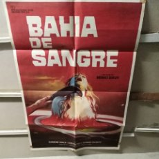 Cine: BAHIA DE SANGRE MARIO BAVA POSTER ORIGINAL 70X100. Lote 239748905
