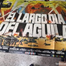 Cine: CARTEL CINE EL LARGO DIA DEL AGUILA, POSTER . JANO, FREDERICK STAFFORD FRANCISCO RABAL. Lote 239751415