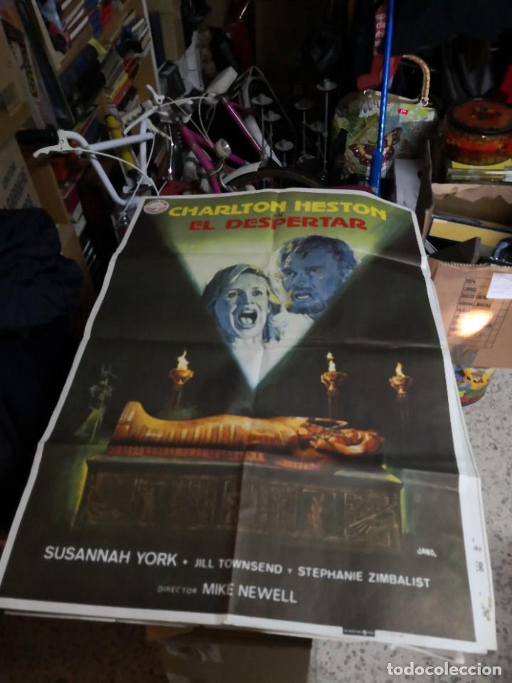 CARTEL CINE, EL DESPERTAR, CHARLTON HESTON, SUSANNAH YORK, JANO, 1980 (Cine - Posters y Carteles - Suspense)