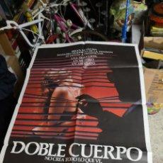 Cine: POSTER ORIGINAL DE CINE 70X100CM DOBLE CUERPO DE BRIAN DE PALMA. Lote 239753425