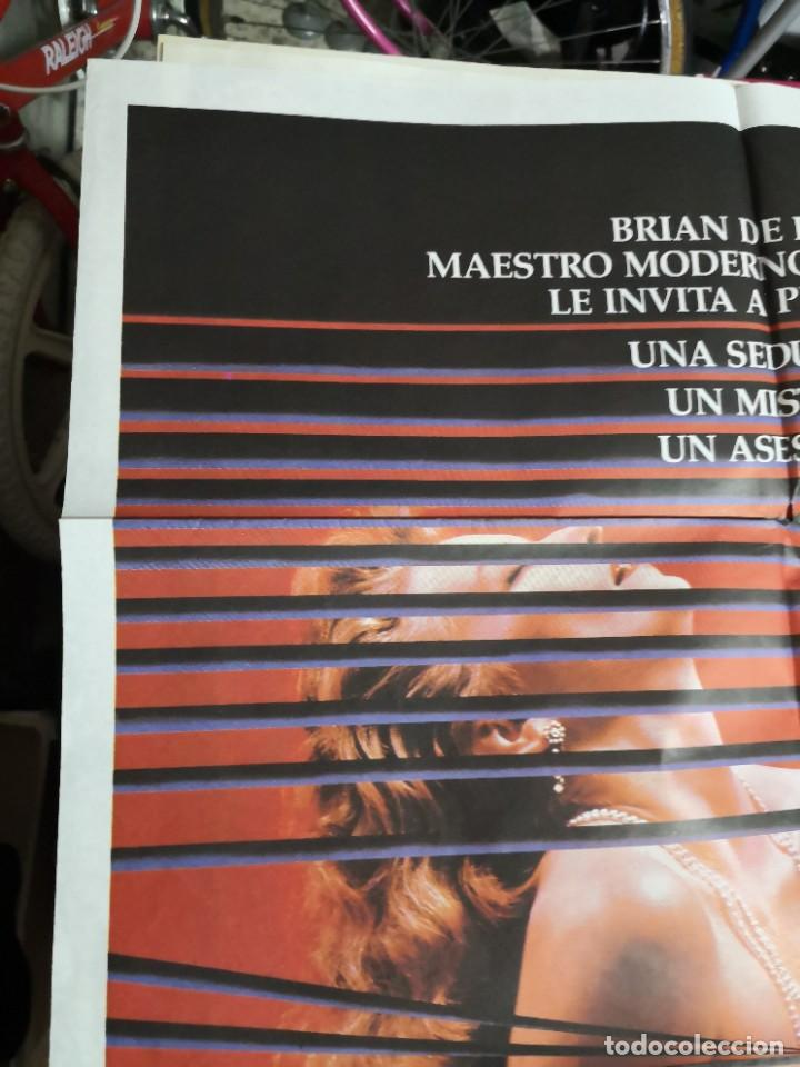 Cine: Poster original de cine 70x100cm DOBLE CUERPO DE BRIAN DE PALMA - Foto 2 - 239753425