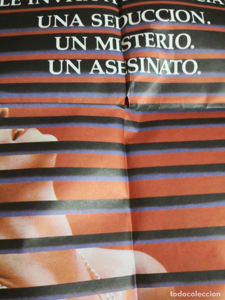 Cine: Poster original de cine 70x100cm DOBLE CUERPO DE BRIAN DE PALMA - Foto 3 - 239753425