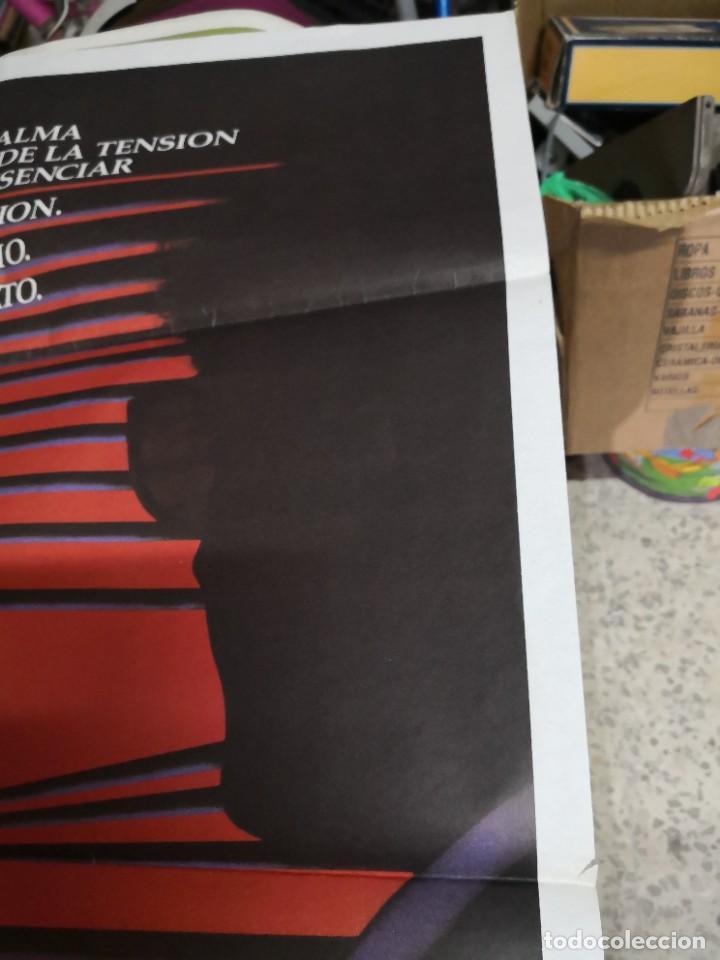 Cine: Poster original de cine 70x100cm DOBLE CUERPO DE BRIAN DE PALMA - Foto 4 - 239753425