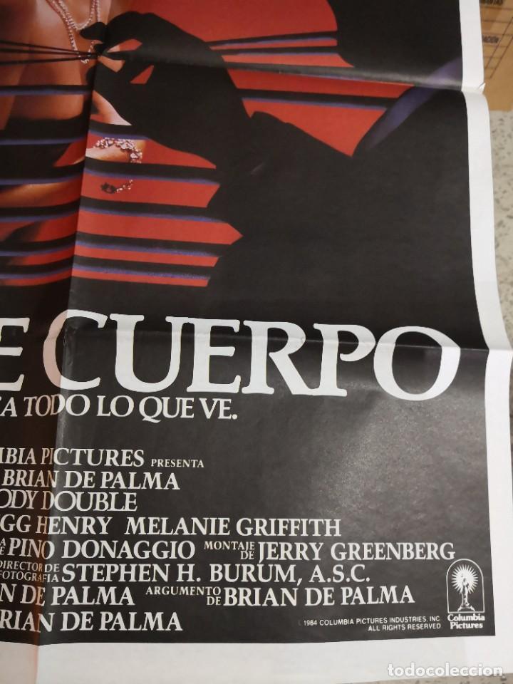 Cine: Poster original de cine 70x100cm DOBLE CUERPO DE BRIAN DE PALMA - Foto 5 - 239753425