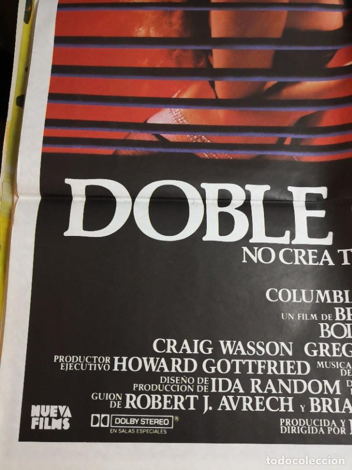 Cine: Poster original de cine 70x100cm DOBLE CUERPO DE BRIAN DE PALMA - Foto 6 - 239753425