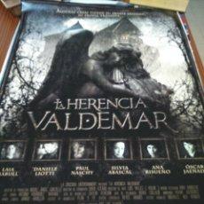 Cine: POSTER DE CINE -- LA HERENCIA VALDEMAR -- POSTER GRANDE --. Lote 240444290