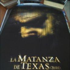 Cine: POSTER DE CINE -- LA MATANZA DE TEXAS 2004 -- POSTER GRANDE --. Lote 240470730