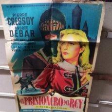 Cine: EL PRISIONERO DEL REY POSTER ORIGINAL 70X100 YY LITOGRAFIA SOLIGÓ. Lote 240687155