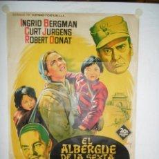 Cine: EL ALBERGUE DE LA SEXTA FELICIDAD - 100 X 70CM - LITOGRAFICO. Lote 240792245