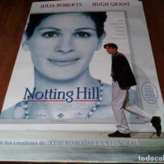 Cine: NOTTING HILL - HUGH GRANT, JULIA ROBERTS, RHYS IFANS - POSTER ORIGINAL WARNER 1999. Lote 240950060