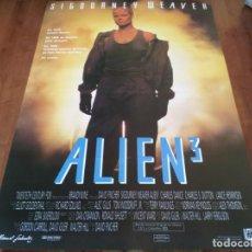 Cinema: ALIEN 3 - SIGOURNEY WEAVER, CHARLES S. DUTTON, DAVID FINCHER - POSTER ORIGINAL FOX 1992 MOD 2. Lote 241142275