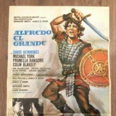 Cine: CARTEL DE CINE DEL ESTRENO DE LA PELÍCULA ALFREDO EL GRANDE (1969). Lote 241485665