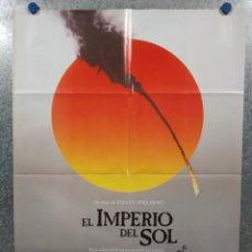 Cinema: EL IMPERIO DEL SOL. CHRISTIAN BALE, JOHN MALKOVICH, STEVEN SPIELBERG.. AÑO 1987. POSTER ORIGINAL.. Lote 241766975
