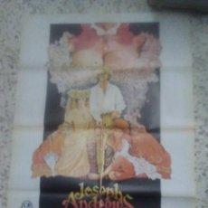 Cine: POSTER CARTEL ORIGINAL DE CINE JOSEPH ANDREUS 100X70 APROXIMADAMENTE. Lote 241820615