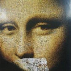 Cine: ANONYMOUS - THE DA VINCI CODE - 2006 - CARTEL PUBLICITARIO NOVELA / CINE CLUB - GRANDE. Lote 241967415