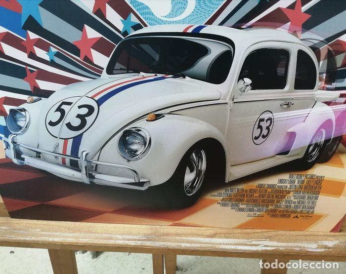 """Cine: Volkswagen """"Herbie"""" Escarabajo - Fully Loaded - Unknown - Autentico Disney Antiguo Original - Foto 2 - 241970545"""