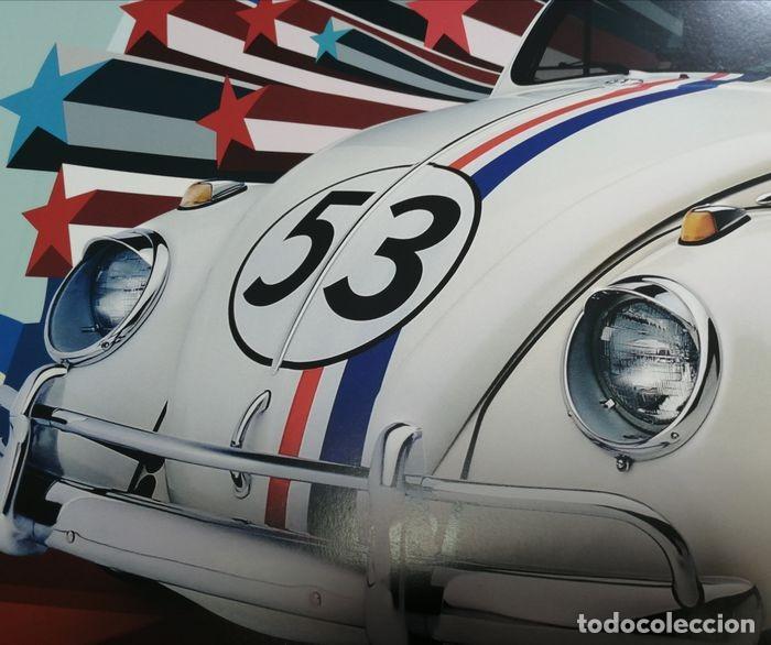 """Cine: Volkswagen """"Herbie"""" Escarabajo - Fully Loaded - Unknown - Autentico Disney Antiguo Original - Foto 3 - 241970545"""