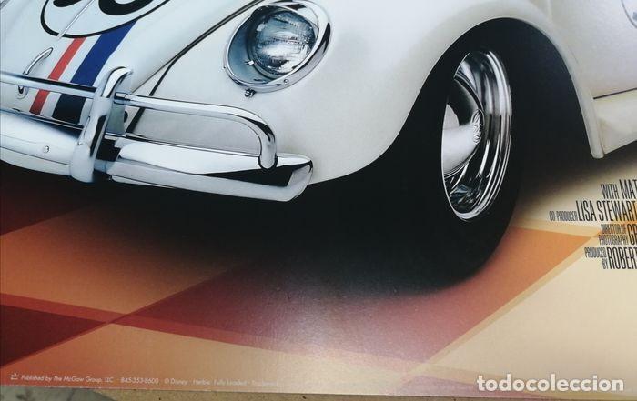 """Cine: Volkswagen """"Herbie"""" Escarabajo - Fully Loaded - Unknown - Autentico Disney Antiguo Original - Foto 4 - 241970545"""
