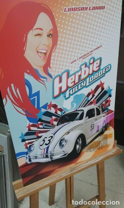 """Cine: Volkswagen """"Herbie"""" Escarabajo - Fully Loaded - Unknown - Autentico Disney Antiguo Original - Foto 5 - 241970545"""