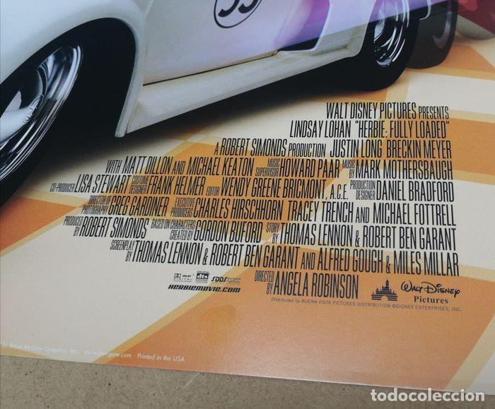 """Cine: Volkswagen """"Herbie"""" Escarabajo - Fully Loaded - Unknown - Autentico Disney Antiguo Original - Foto 6 - 241970545"""
