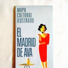 Cine: MAPA - EL MADRID DE AVA GARDNER. Lote 242147995