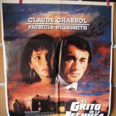 Cine: L2320 EL GRITO DE LA LECHUZA. Lote 287942633