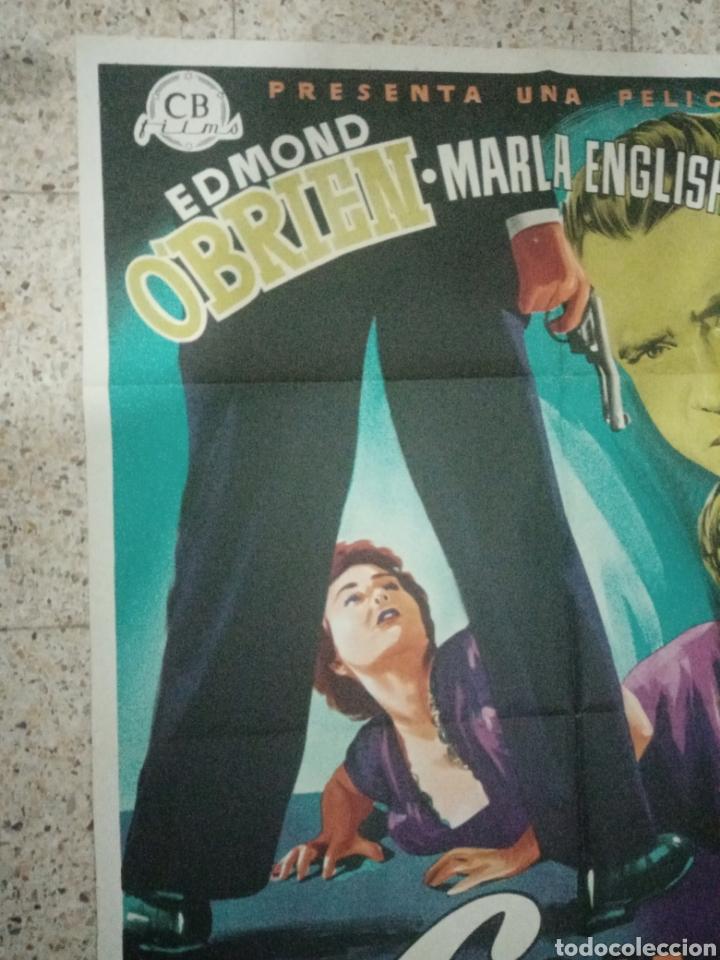 Cine: Cartel original español burlando la ley, edmund obrien, marla english, john agar - Foto 2 - 242394140
