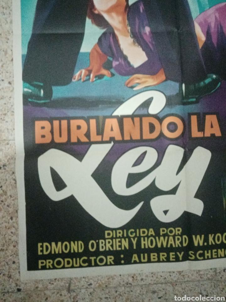 Cine: Cartel original español burlando la ley, edmund obrien, marla english, john agar - Foto 4 - 242394140