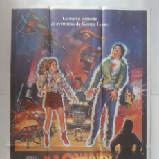 Cinema: ANTIGUO CARTEL CINE HOWARD UN NUEVO HEROE GEORGE LUCAS R282 RV. Lote 242405660