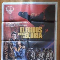 Cine: ELEGIDOS PARA LA GLORIA 100X70. Lote 242821735