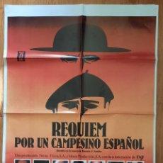 Cine: REQUIEN POR UN CAMPESINO ESPAÑOL / 100X70. Lote 242826785