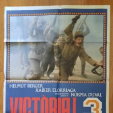 Cine: VICTORIA 3 ! EL SENY I LA RAUXA / ANTONI RIBAS / 100X70. Lote 242827895