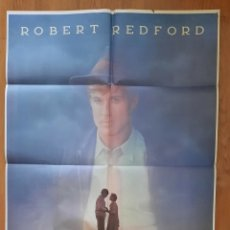 Cine: EL MEJOR / ROBERT REDFORD / 100X70. Lote 242843790